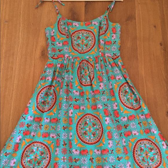 51dd9fb8962f8e J. Crew Dresses   Skirts - Drakes for Jcrew tiled elephant dress ...